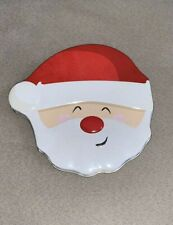 Santa Smile Gift Card Tin Christmas Gift Card Holder - Mint Condition!
