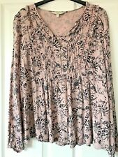 NEXT Pretty Loose Long Sleeve Top size 12
