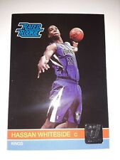2010-11 Donruss Hassan Whiteside RC #259 Sacramento Kings Rated Rookie