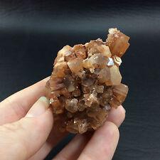 Marrón Natural Aragonita Muestra 160728 Crystal Mineral Piedra Metafísico