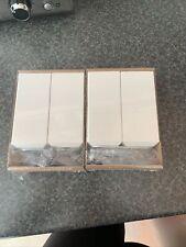 IKEA BESTA STUBBARP Feet/Legs White x4 2 Packs White BNIB