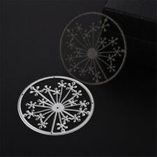 1pc Hollow Snow Dandelion Metal Cutting Dies Scrapbooking Photo Album Decor PB
