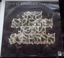 STU MARTIN JOHN SURMAN LIVE AT WOODSTOCK TOWN HALL 1975 DAWN DNLS 3072 EX+/VG+