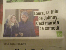 JOURNAL DECES DE: MARIA PACOME + MARIAGE LAURA FILLE JOHNNY HALLYDAY -02/12/2018