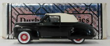 Durham 1/43 Scale DC15D  - 1941 Ford Convertible Top Up Black