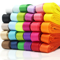 """30 Colors 3/8"""" 60 Yards Grosgrain Ribbon Bow Hair DIY Craft Gift Wrapping"""