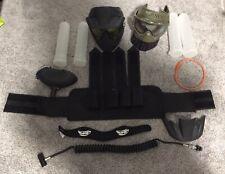 Paintball Gear Masks, Gear Bag,hopper Air Hose Pods Carrier pouch