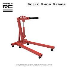 Make It RC 1/24 Scale Engine Hoist for Model Car Shop, Diorama, Garage, Tools