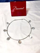 Baccarat Collier Necklace Tentation -Crystal & Silver choker 104294 Collana NEW
