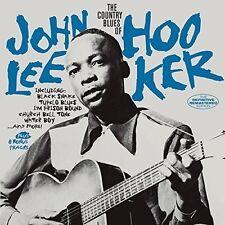 Country Blues Of John Lee Hooker + 8  Bonus Tracks - John Lee Ho (2015, CD NEUF)