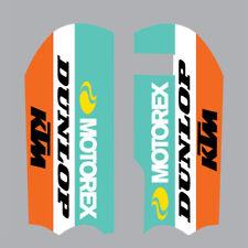 KTM SX50 2013-19 / SX65 2009-19 MOTOCROSS MX GRAPHICS FORK GUARD DECAL