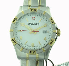 Wenger señores reloj platoon 01.0941.105 swiss made nuevo & OVP