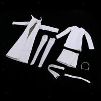 1:6 Scale Witch Overcoat Dress Belt for 12'' Action Figure Costume Cosplay