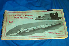 Navigation Charts Arkansas River System Oklahoma White Army Corps of Engineers