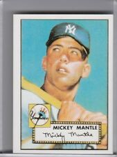 1984 TOPPS #311 MICKEY MANTLE 1952 ROOKIE RC REPRINT NEW YORK YANKEES HOF B136