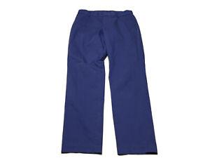 Nike Dri Fit Tour Performance Golf Pants  Stretch Blue Lightweight Sz M 30x32 A7