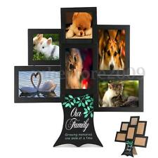 Family Tree Frame Collage Pictures Gift Multi-Photo Mount Wall Decor Mothers Day