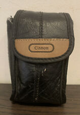 Vintage Canon Soft Black Compact 35mm Film Camera Bag Pouch
