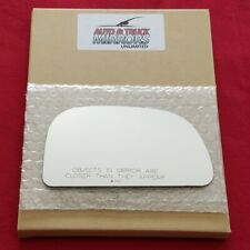 Mirror Glass + Adhesive For 97-02 Mitsubishi Mirage Passenger Side Replacement