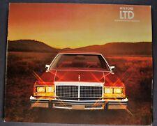 1979 Ford LTD Catalog Brochure Landau, Country Squire Wagon Excellent Original