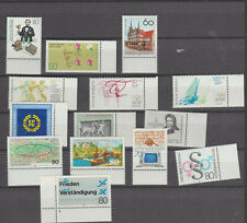Germany 1984  Commemoratives  selection MNH