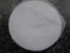 White bun hair net thin fabric mesh elastic stretchy snood  ballet dance riding