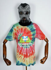 Huf Worldwide Skateboard T-Shirt Tee Woodstock Peaking Multi in M