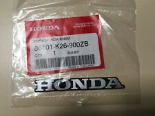 HONDA MARK 80mm STICKER DECAL STICKER LOGO BADGE 100% GENUINE ORIGINAL