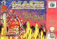 Mace The Dark Age Nintendo 64 N64 Authentic OEM Video Game Cart Fighting Battle