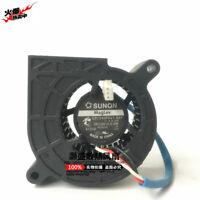 for SUNON GB1245PKV1-8AY 11.F.X.GN Sleeve Bearing Blower Fan 45*45*25mm 12V 0.5W