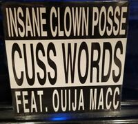 Insane Clown Posse - Cuss Words CD SEALED oujia mac mike e clark rare single icp