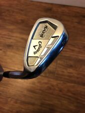 SUPERB CALLAWAY RAZR X FORGED 9 IRON, STIFF FLEX KBS TOUR SHAFT