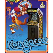 Kangaroo Free Play and High Score Save Kit Arcade