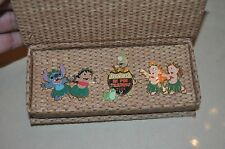 Disney 2004 Adventures in Pin Trading Lilo & Stitch Boxed Set of 3 pins LE 500