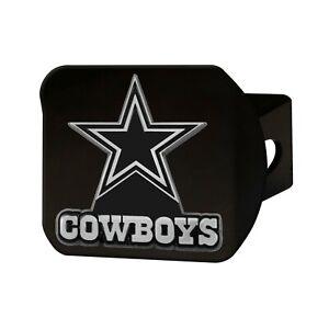 Fanmats NFL Dallas Cowboys 3D Chrome on Black Metal Hitch Cover Del. 2-4 Days