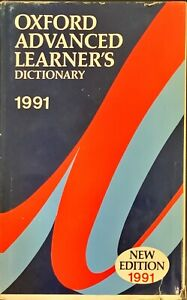 OXFORD ADVANCED LEARNER'S DICTIONARY OF CURRENT ENGLISH - OUP 1991