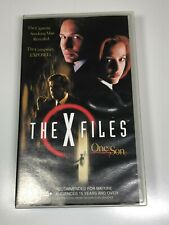 The X Files VHS Video Tape The X-Files x2 Titles TWO FATHERS / ONE SON (VGC)