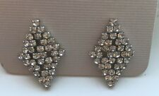 Stunning High Quality Diamante Fashion  Earrings Pieced 1st Class Free Postage