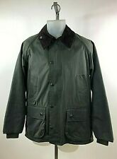 Barbour Men's Classic BEDALE Wax Jacket Green w/ ZIP OUT LINER Size 38