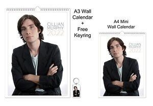 Cillian Murphy 2022 A3 A4 Wall Office Calendar + Key Ring
