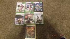 New listing Xbox 360, 7 game bundle