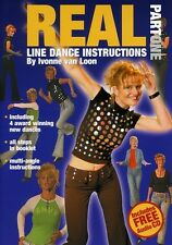 Real Line Dance Instructions by Ivonne Van Loon, P DVD Region ALL