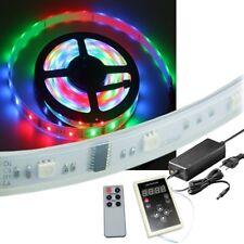 10m RGB LED-Lauflicht SET Stripe + Controller Netzteil Licht-Streifen Band Außen