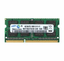 Mémoire Samsung 4 Go 2RX8 DDR3 1333 MHz PC3-10600S Ordinateur Portable RAM 4 Go