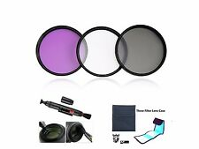 F240u Filter FLD CPL UV + Case + LensPen 72mm for Canon EOS 70D 18-200mm Lens
