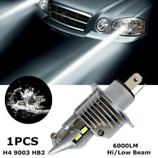 1x Motorcycle Car H4 9003 HB2 LED Headlight Bulb 6000LM Hi/Low Beam Built-in fan