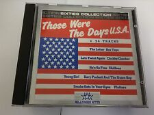Those Were The Says USA CHIFFONS GARY PUCKETT CRYSTALS ETC 24 TRK CD