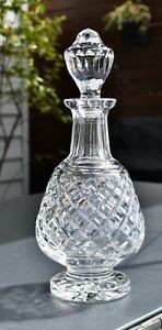 Superb Waterford Crystal ALANA Decanter - Brandy/Spirits - Footed - 31cm