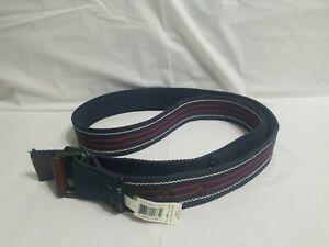Polo Ralph Lauren Blue Canvas Belt