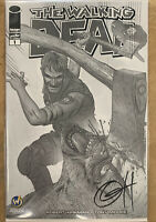 Walking Dead #1 Image 2003 Signed Greg Horn Cleveland Comic Con B/W Variant